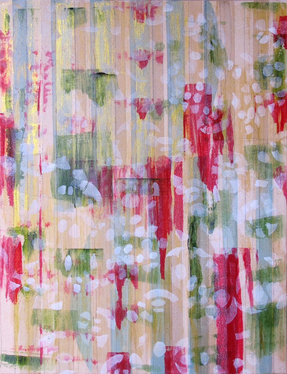 "Liminal Spaces  92 Elizabeth Chandler EC1050 Acrylic on Canvas 40"" x 30"""