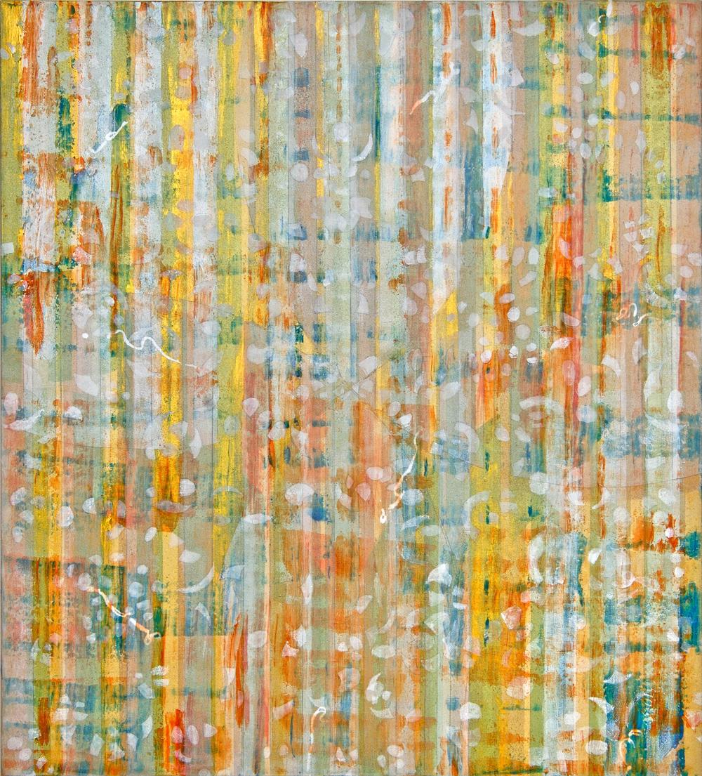 "Liminal Spaces  43 Elizabeth Chandler EC1043 Acrylic on Canvas 60"" x 54"""