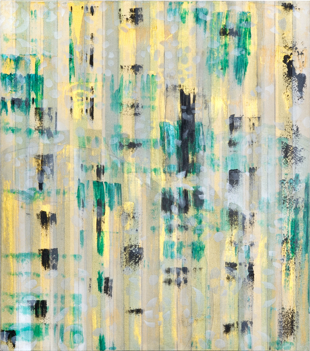 "Liminal Spaces  81 Elizabeth Chandler EC1039 Acrylic on Canvas 50"" x 44"""