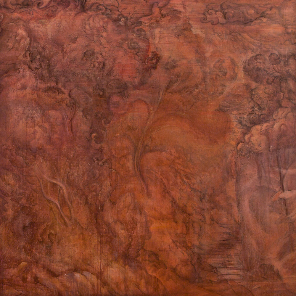 "Untitled  Eric Holzman HZ209 Oil on Canvas 73"" x 72"""