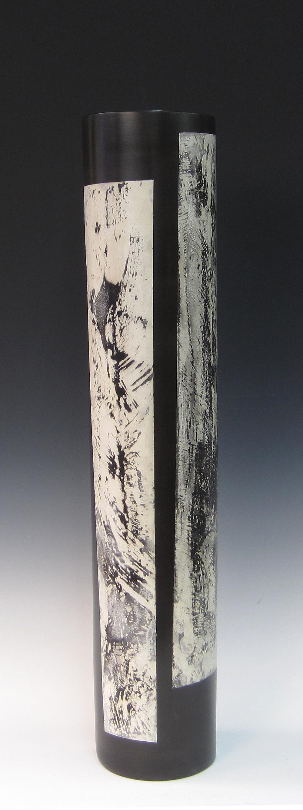 "Cylinder (Piano Series)  Kathy Erteman ET111 Ceramic 28"" x 6"""