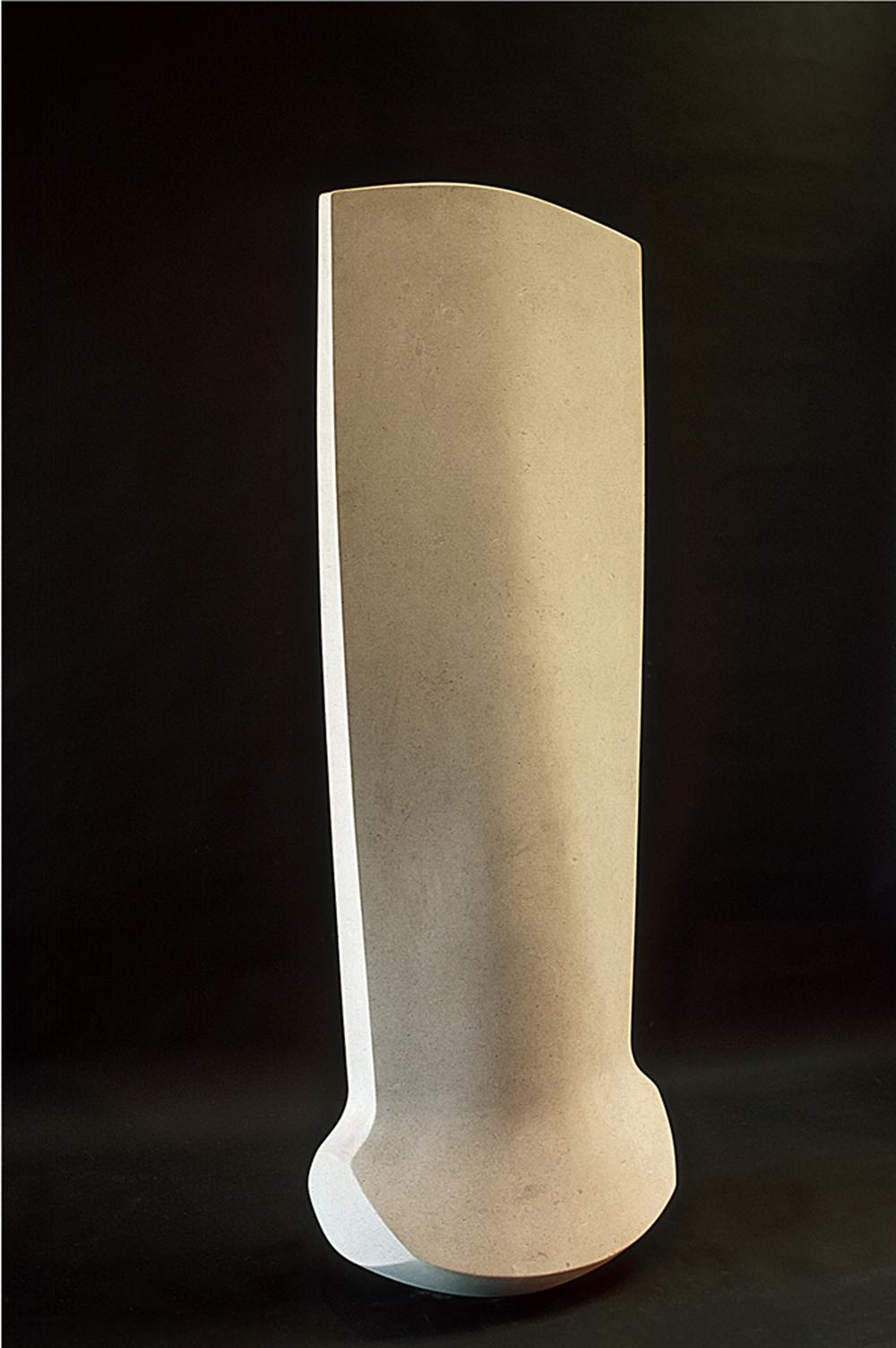 "One one one  John Christensen CR104 Limestone 75"" x 27"" x 19"""