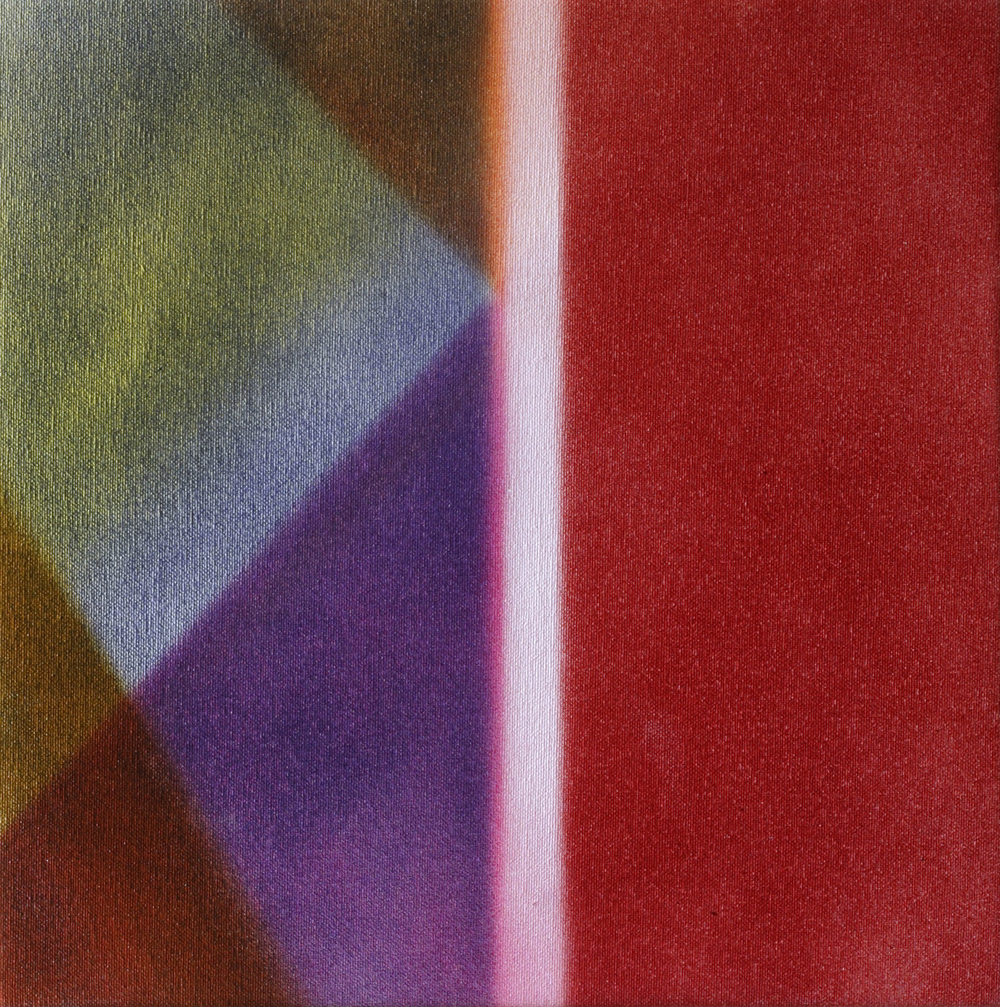 "Untitled  Thomas Zitzwitz ZW145 Acrylic on Canvas 13"" x 13"""
