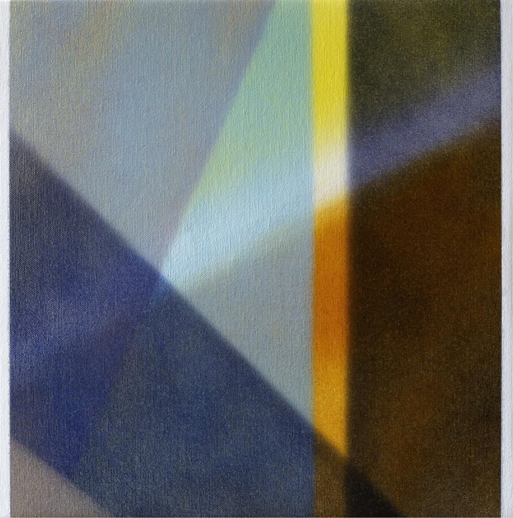 """Untitled  Thomas Zitzwitz ZW147 Acrylic on Canvas 13"""" x 13"""""""