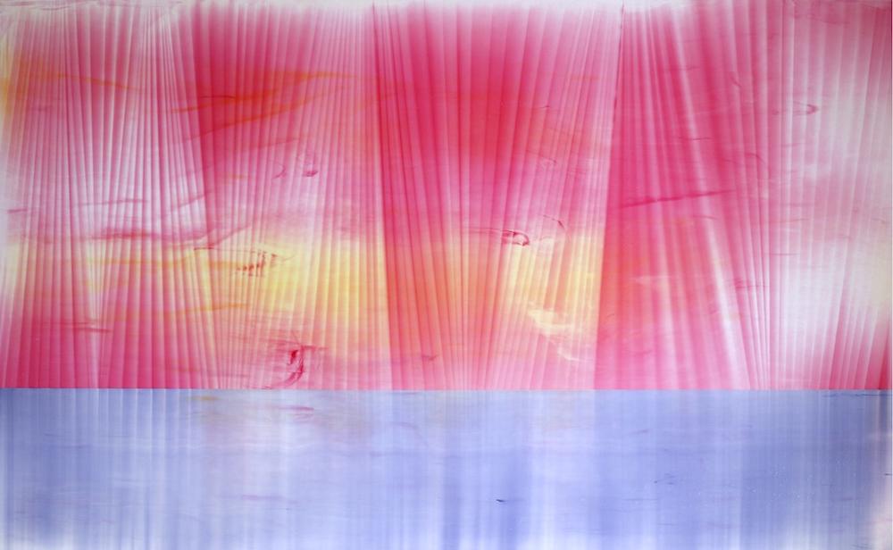 """Untitled  Thomas Zitzwitz ZW150 Acrylic on Canvas 46"""" x 75"""""""