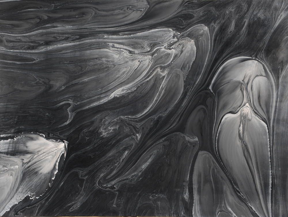 "Untitled  Patrick Fagerberg FA205 Acrylic on Enamel Di Bond 18"" x 24"""