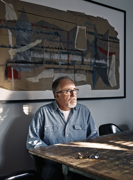 Artist Bob Russell contemplates his next step after a banner year.