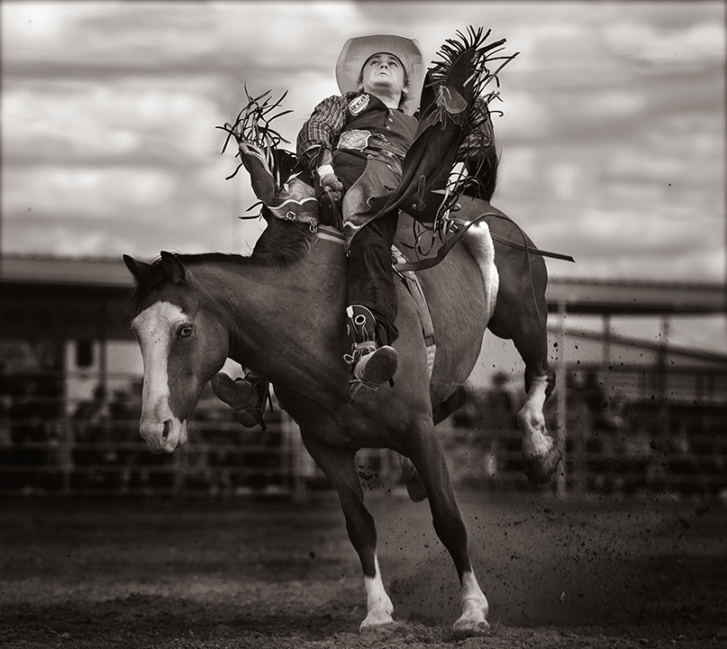 "Untitled (Cowboy)  Gary Lankford GLK105 Archival Pigment Print on Hahnemuhle Fine Art Paper Paper: 29.25"" x 32"", Image: 21.5"" x 24"""