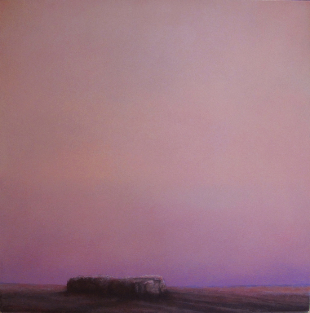 "Enchanted Silence  Chris De Dier DD 156 Oil on Canvas 36"" x 36"""
