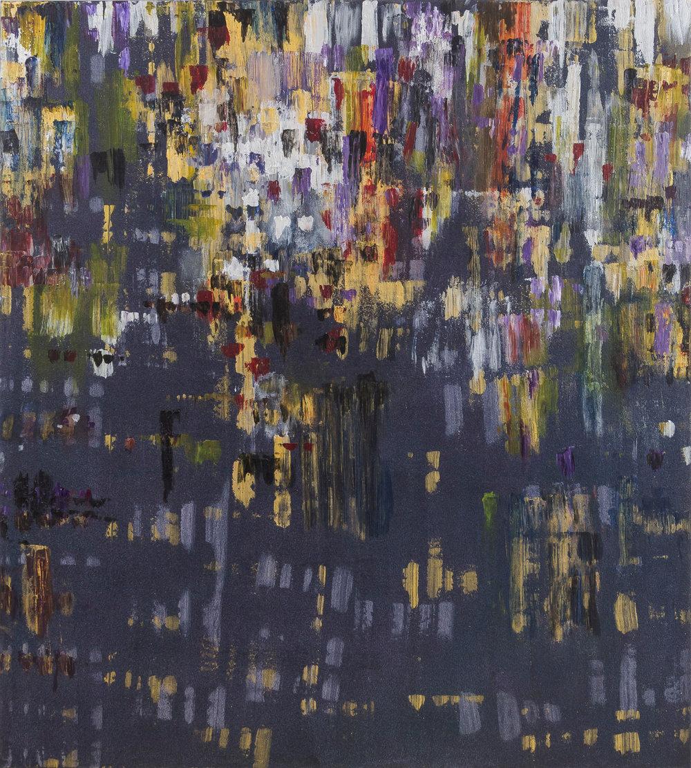 "Liminal Spaces 164 Elizabeth Chandler EC1092 Acrylic on Canvas 60"" x 54"""