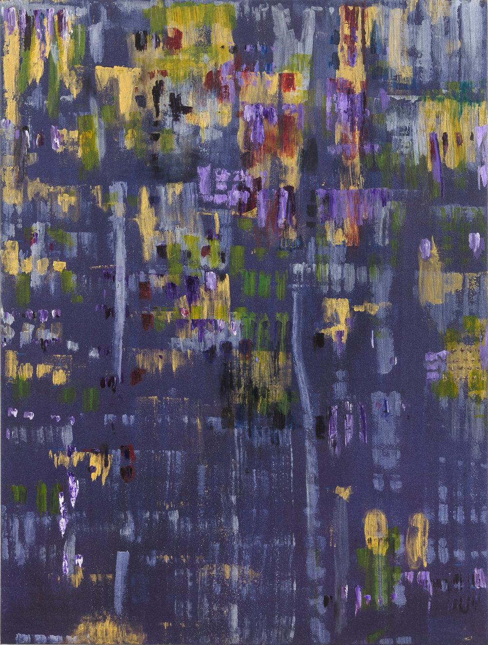 "Liminal Spaces 169 Elizabeth Chandler EC1095 Acrylic on Canvas 60"" x 45"""