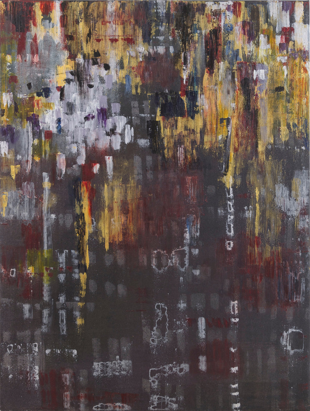 "Liminal Spaces 165 Elizabeth Chandler EC1096 Acrylic on Canvas 60"" x 45"""