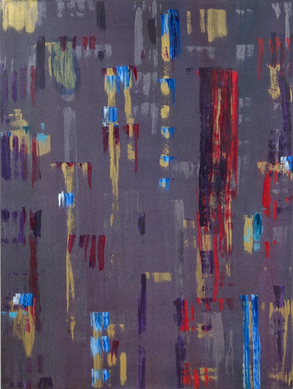 "Liminal Spaces 141 Elizabeth Chandler EC1097 Acrylic on Canvas 60"" x 44"""