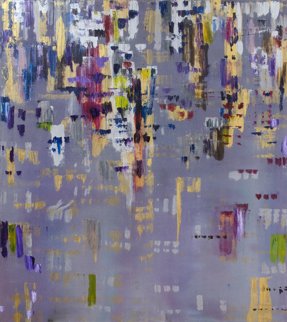 "Liminal Spaces 163 Elizabeth Chandler EC1098 Acrylic on Canvas 60"" x 54"""