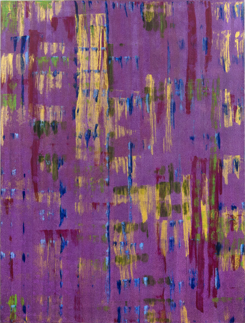 "Liminal Spaces 130 Elizabeth Chandler EC1099 Acrylic on Canvas 60"" x 44"""