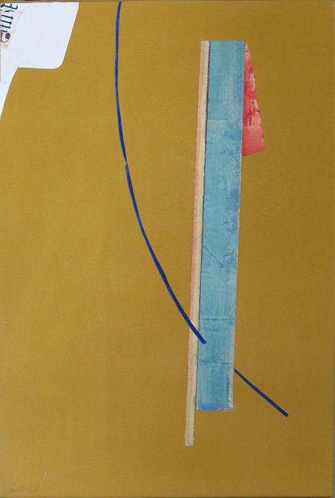 "La Costa 1  John Pavlicek JP3398 Mixed Media on Canvas 24"" x 16"""