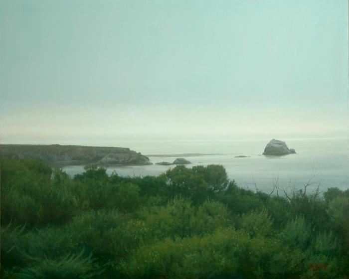 "Coastal Horizon II  Bruce Brainard BR953 Oil on Canvas 48"" x 60"""