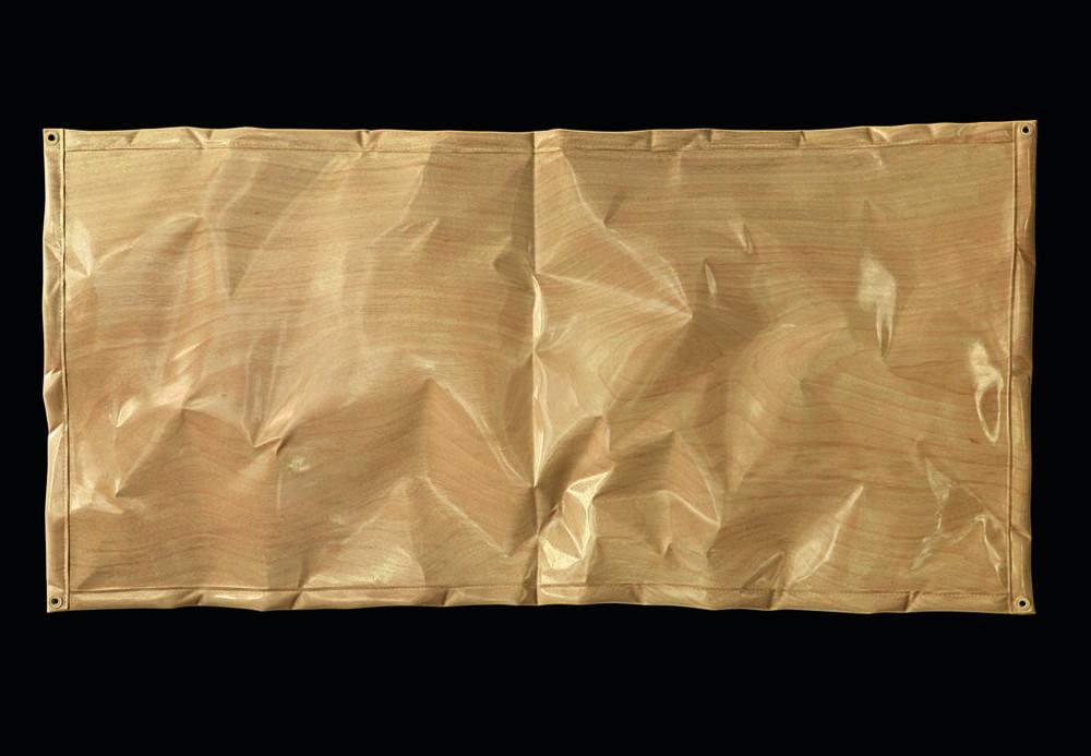 "Bâche codex  Christian Renonciat Ayous Wood 31.5"" x 63"""