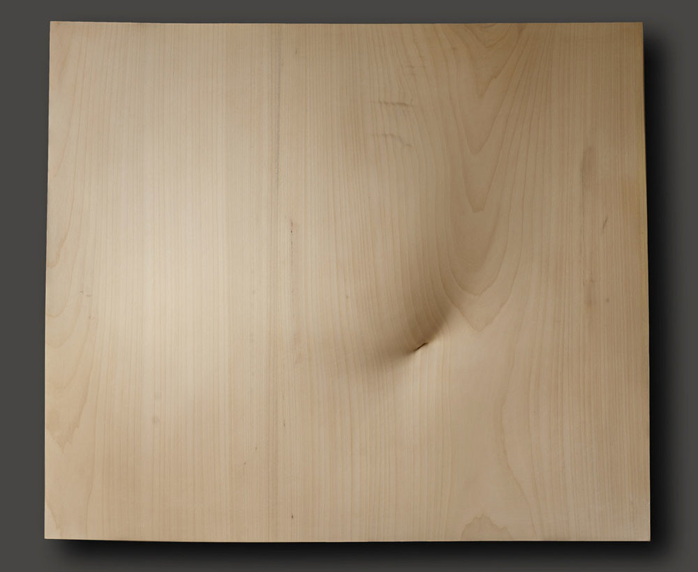 """Mousse, agraphée en bas  Christian Renonciat Ayous Wood 44"""" x 57.5"""""""