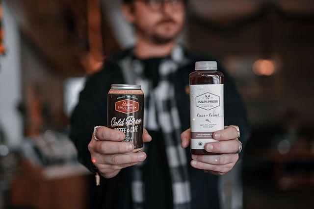 Life's too short for hard decisions - Drink both 😎 // @pulpandpress @illburyandgoose