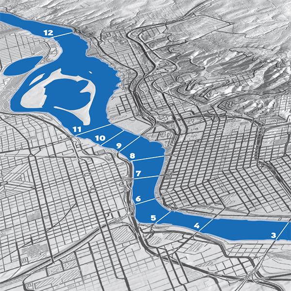 River key map