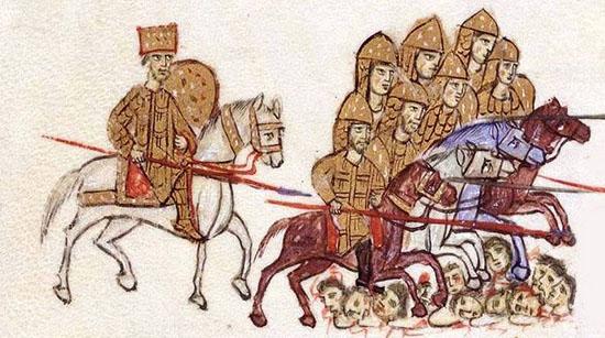 Byzantine King Basil II