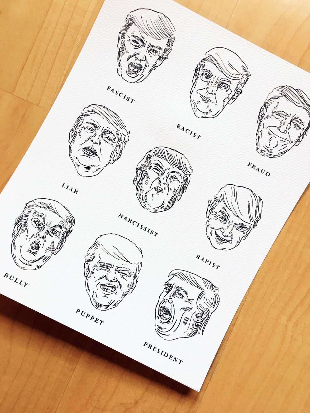 Faces of Trump
