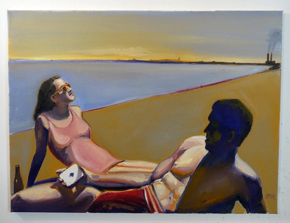 On the Beach 24x18