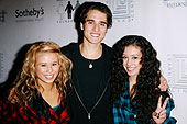 Savannah Van of the G-Girlz, Daniel Samonas and Keana Texeira