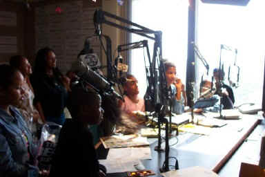 Live on-air with 100.3 The Beat