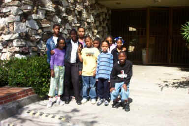 The EAF students who participated in the field trip