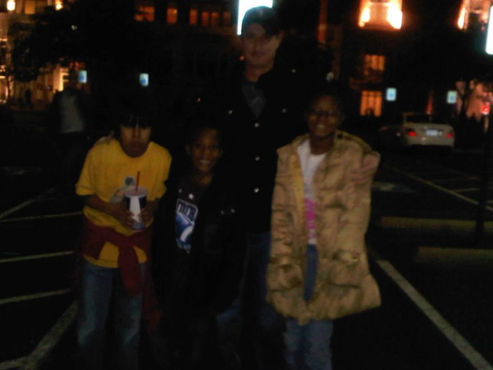 Joe, Jaime, Magic, and Deja after the show