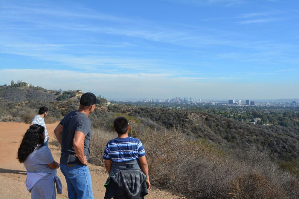 Hiking 3 - Overlooking LA.JPG