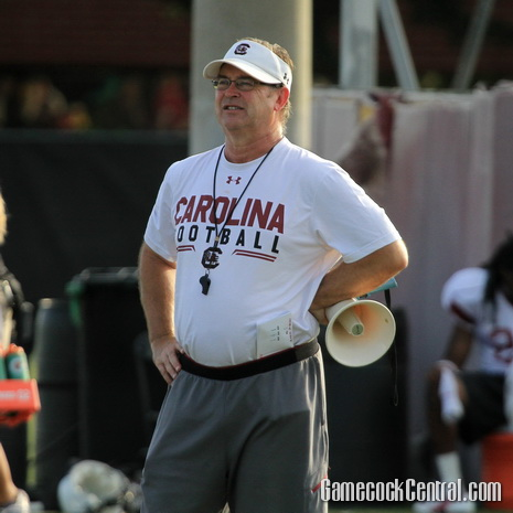 Staff photo by Paul Collins: Robinson never lost to South Carolina as a coach.