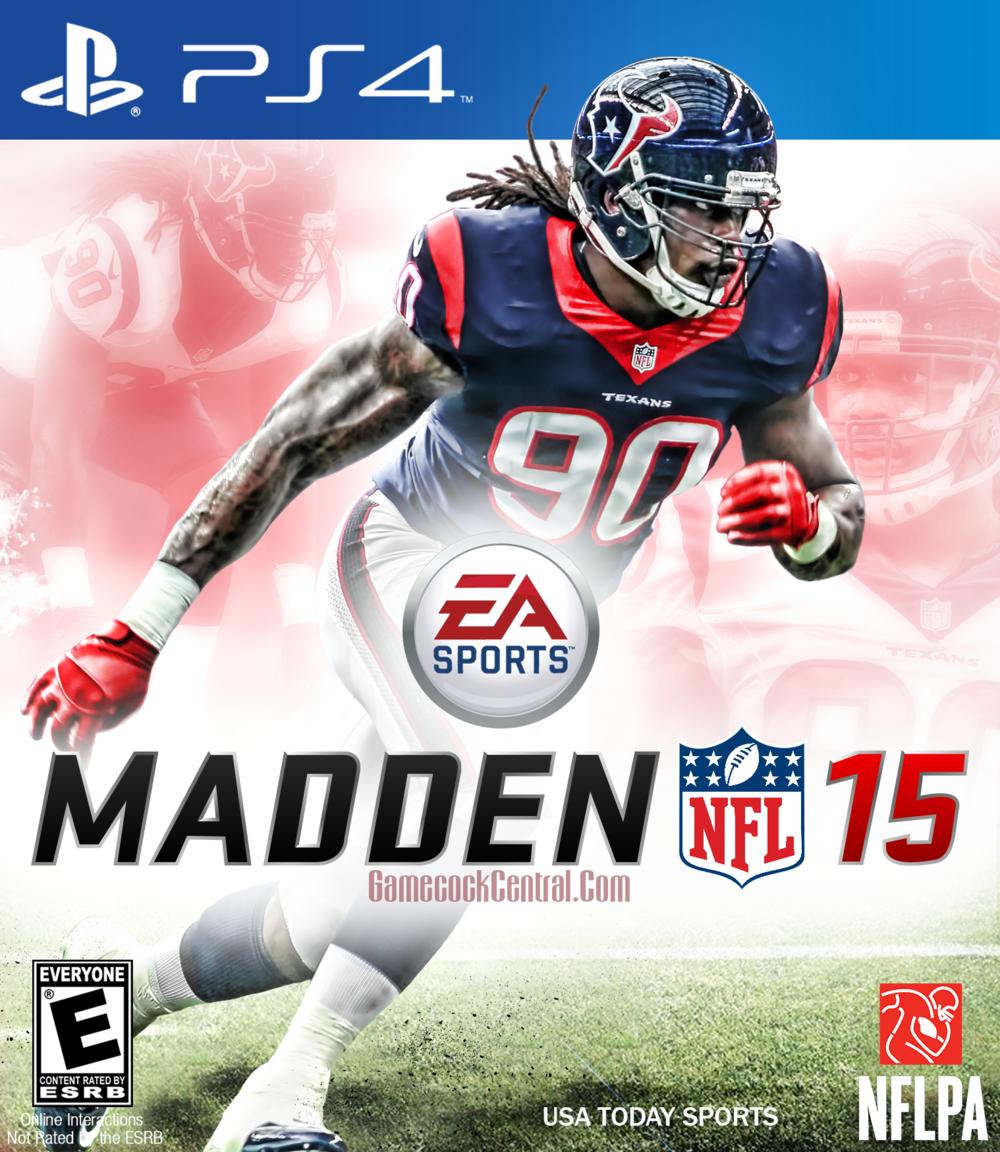 Madden NFL 15 Jadevon Clowney ps4