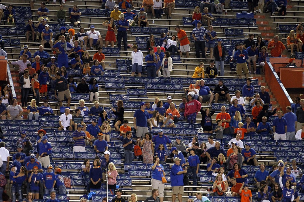 Florida football: Come because you think they're going to win, leave because they don't.