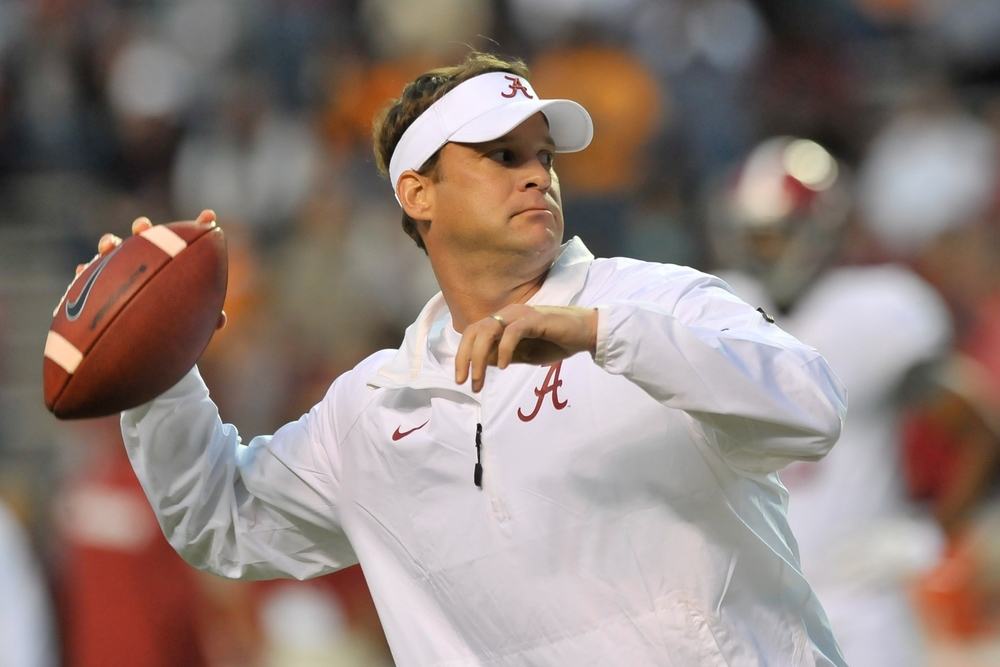 Finally, Lane Kiffin's offense has reached full singularity, with Lane Kiffin inserting himself as quarterback. Dreams do come true.