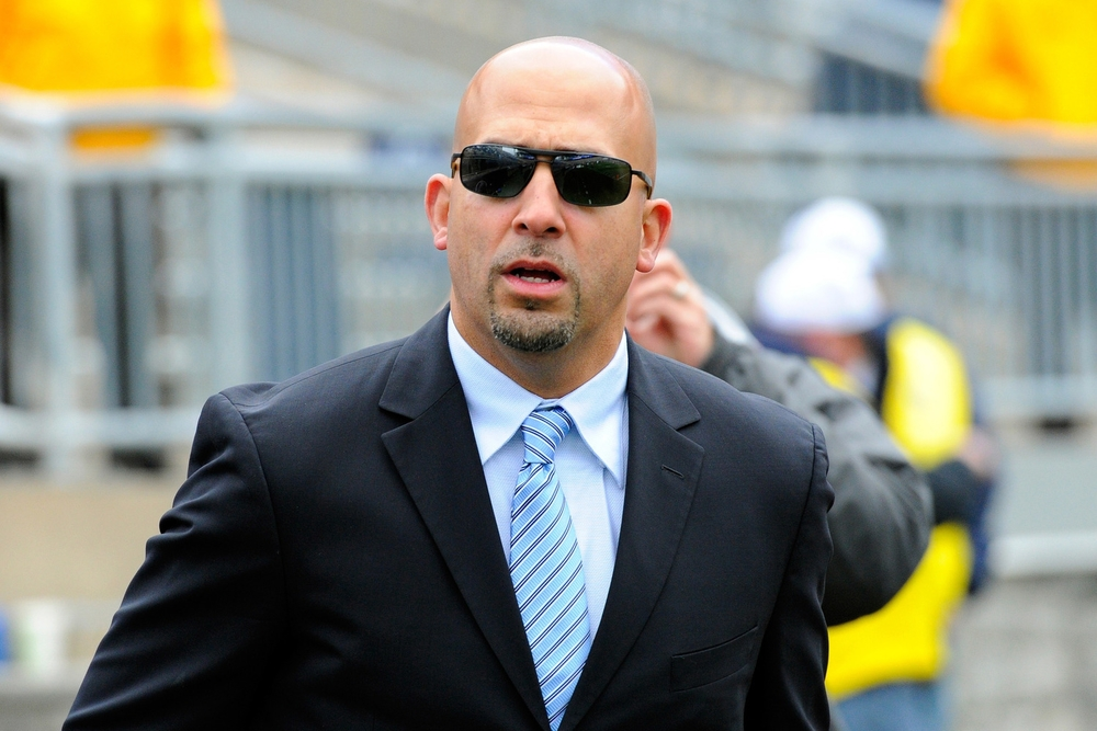 James Franklin: Mack Daddy. The dude knows how to lose while still lookin' goooooood.