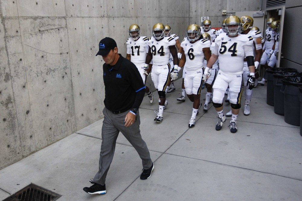 "Jim Mora makes the team live and die by the ""buddy system"". You lose your buddy, you're going to lose the game. Simple as that. Now everybody hold hands."