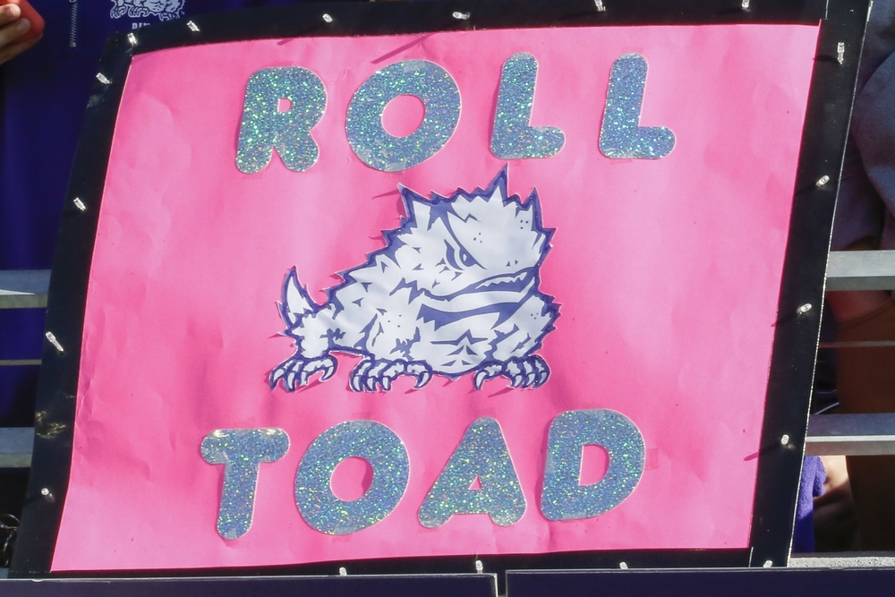 "I'm giving this a firm ""no"", though I like the use of glitter. Really makes the ""TOAD"" pop."