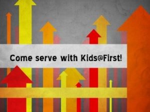Serving with Kids@First