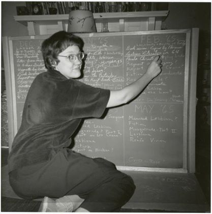 In 1964, Barbara Gittings questioned the diagnosis of sickness in The Ladder, a Lesbian Review, creating dialog and precipitation change.