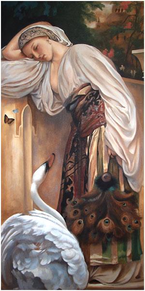 Odalisque Mural
