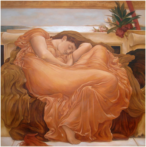 Flaming June Mural