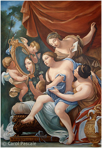 Venus Mural, after Vouet