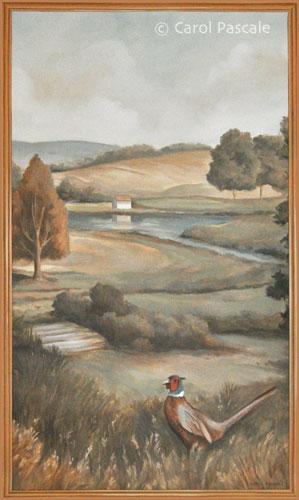 Pennsylvania Landscape Mural