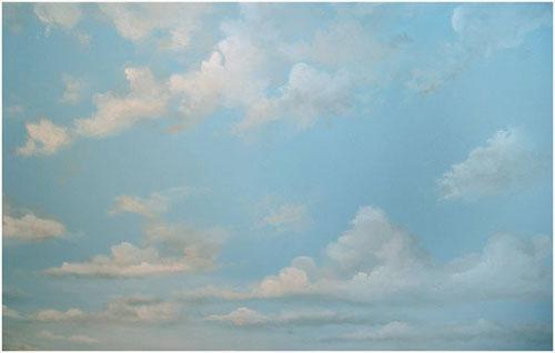 Cloud Mural