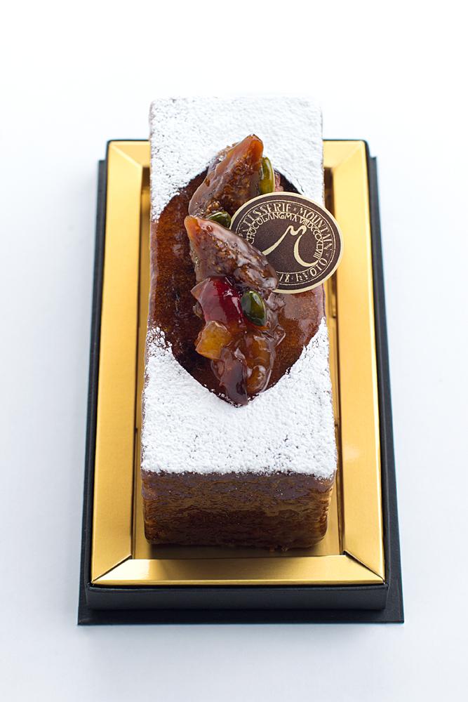 ケーク オ フリュイ  旨みが濃縮されたドライフルーツをたっぷり使ったパウンドケーキ。