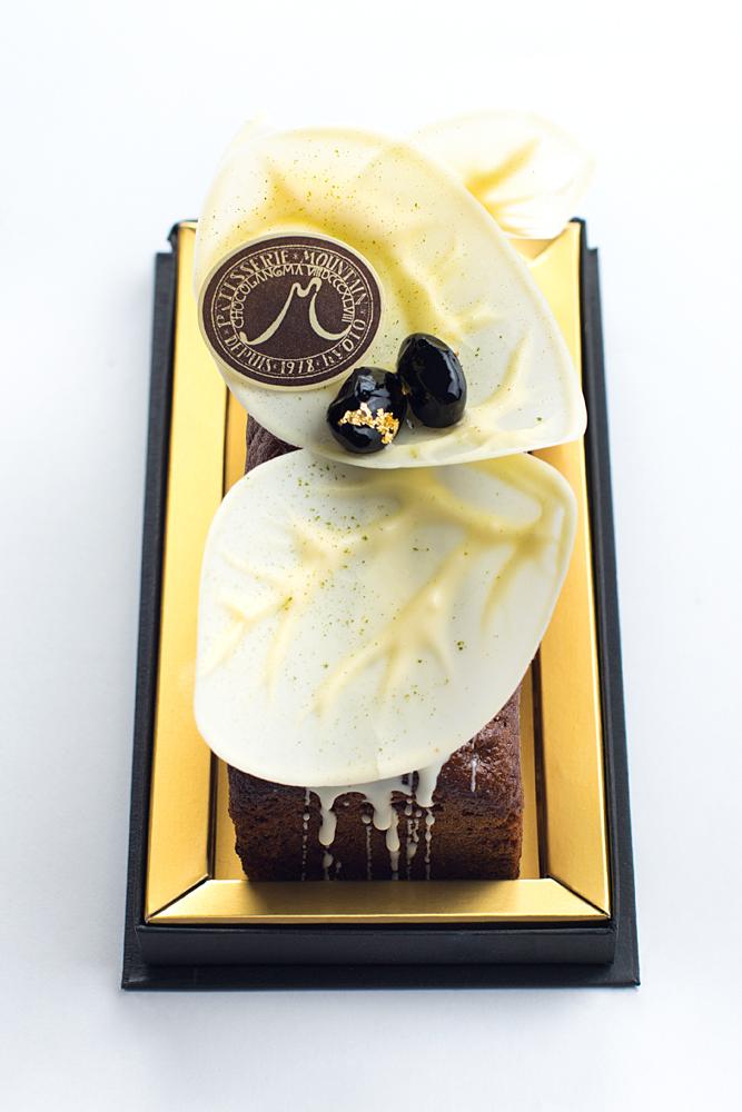 ケーク 抹茶ユズ 抹茶を贅沢に使用したしっとり上品なパウンドケーキ。ユズがほんのり香ります。