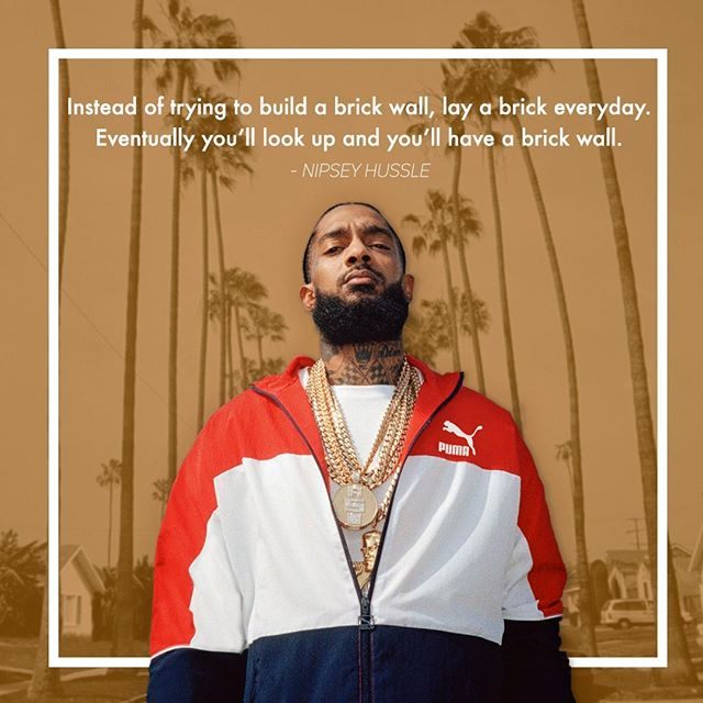 Rest in peace to @NipseyHussle, the artist who inspired progress in his community and the world around him. May his legacy live on forever 🙏 • #RIPNipseyHussle